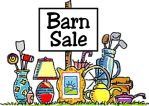 GARAGE SALE IN THE BARN